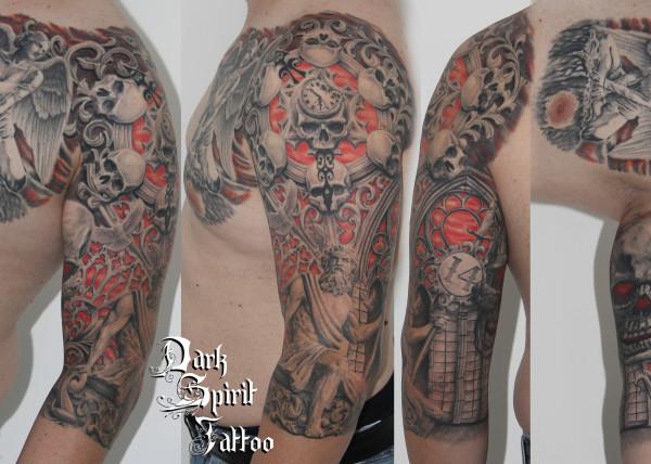 Tatouage Vikings Ragnar Dark Spirit Tattoo