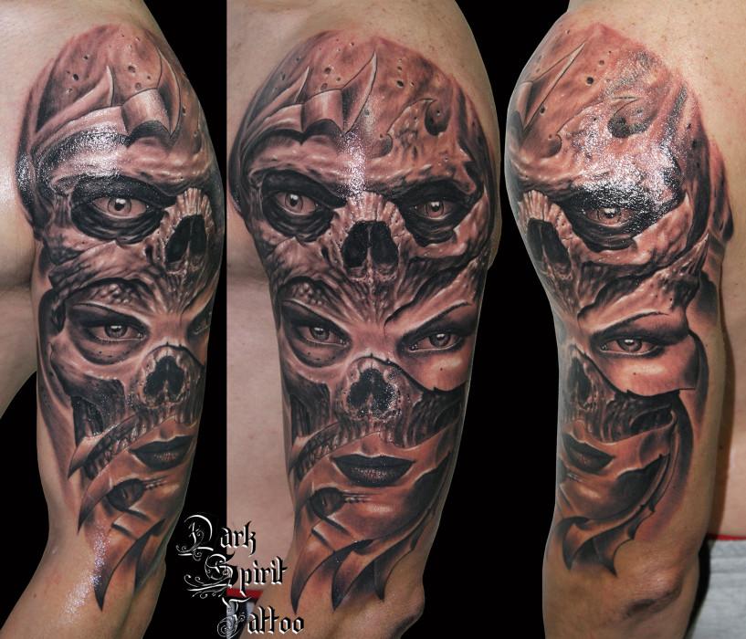 tatoueur perpignan tatouage visage femme bio organique. Black Bedroom Furniture Sets. Home Design Ideas