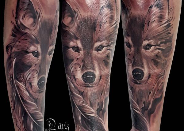 Tatouage Realiste Femme Demon Dark Spirit Tattoo