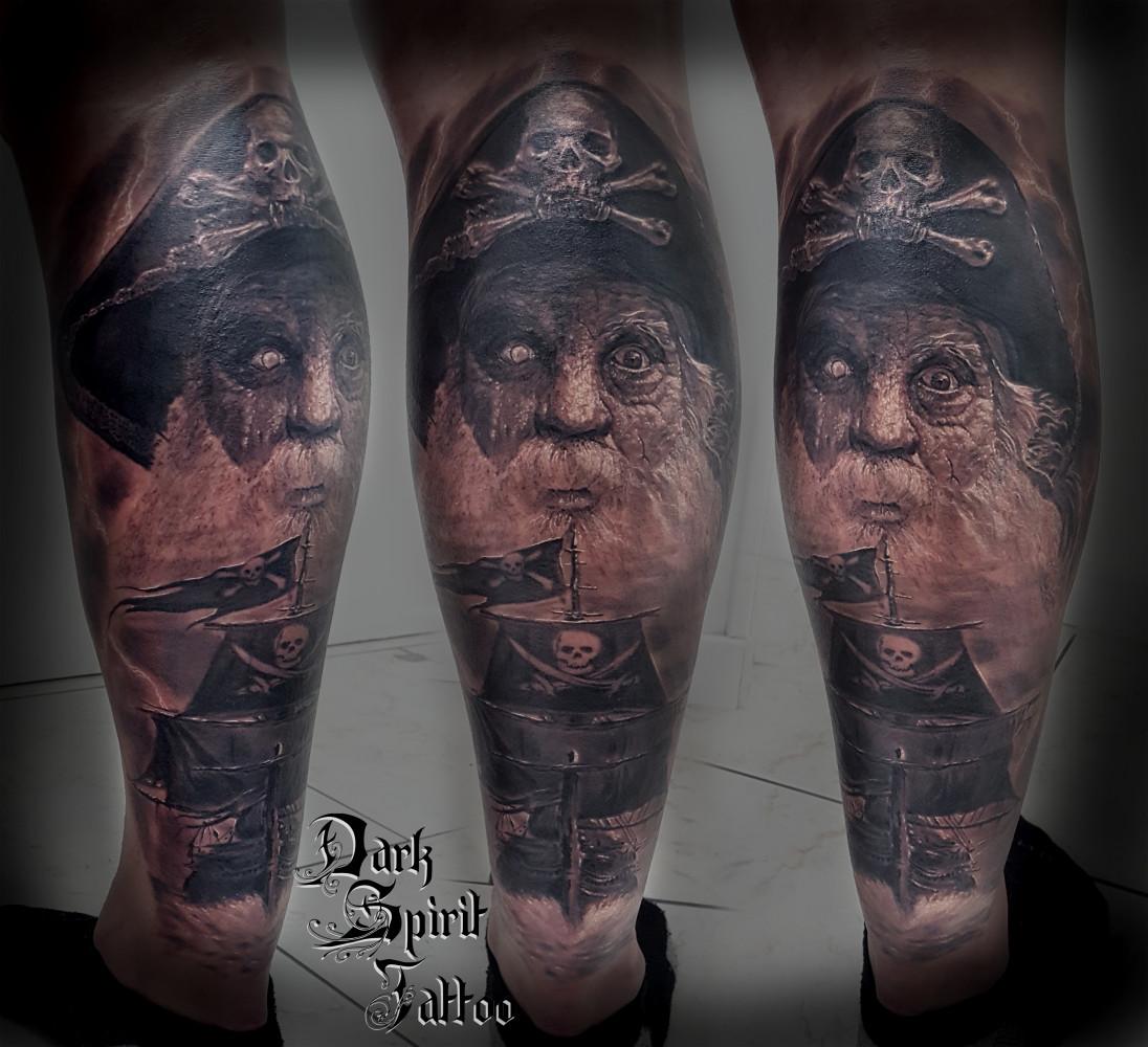 signification tatouage bras tout noir