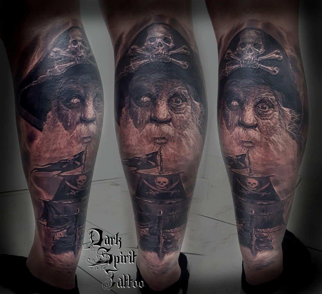 Tatoueur Perpignan Pirate Dark Spirit Tattoo
