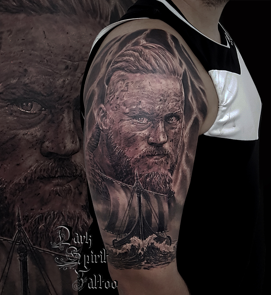 tatouage vikings ragnar