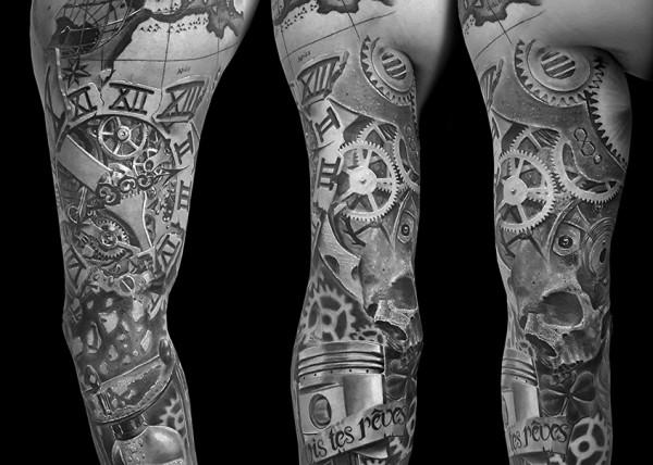 tatouage santa muerte dark spirit tattoo. Black Bedroom Furniture Sets. Home Design Ideas