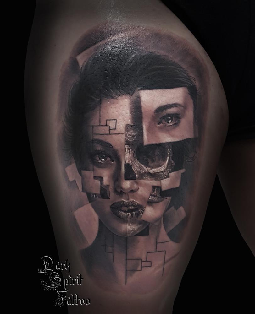 Tatouage tete de mort homme fashion designs - Image de tete de mort ...