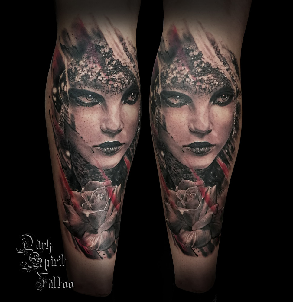 Tatoueur Francais Realiste Dark Spirit Tattoo