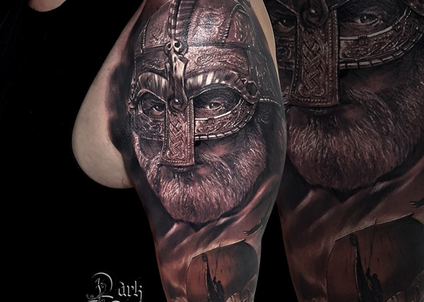 tatouage t te de mort r aliste dark spirit tattoo. Black Bedroom Furniture Sets. Home Design Ideas