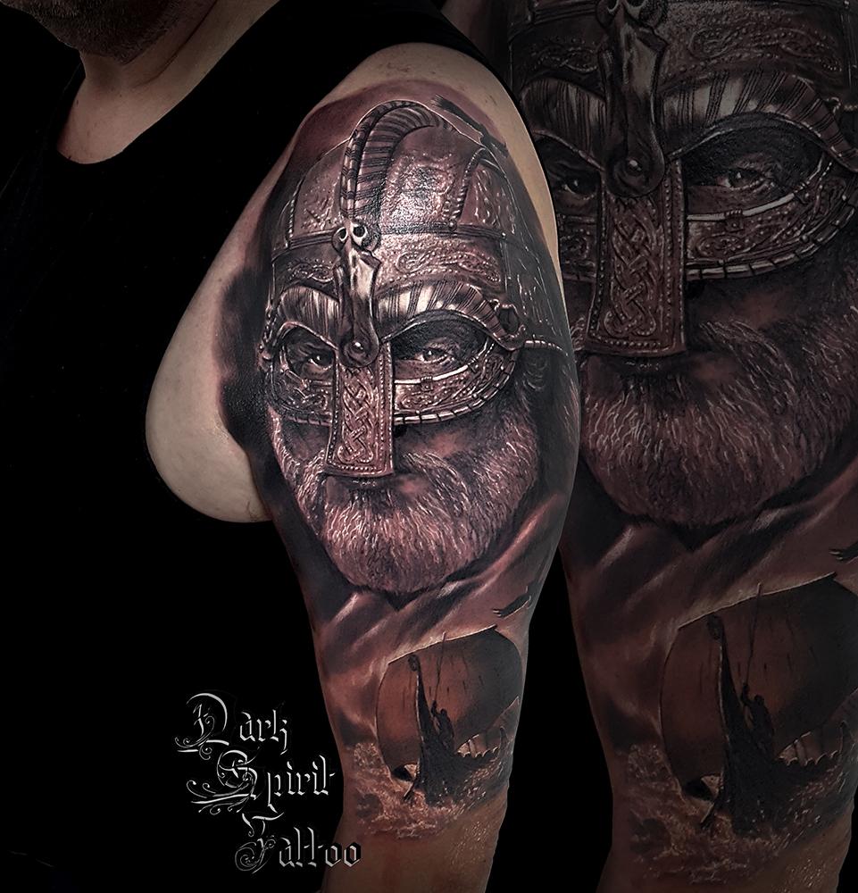 Viking Tattoo Nordic Force Tattoo Idea Krafttattoo Kraft